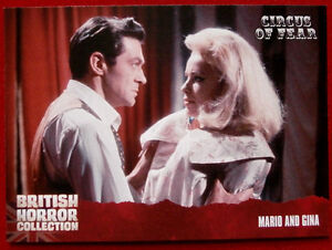 BRITISH-HORROR-COLLECTION-Circus-of-Fear-MARIO-AND-GINA-Card-83