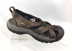 a00afa63b77f KEEN Venice Brown Size 8.5 Men Waterproof Hiking Sport Trail Sandal ...