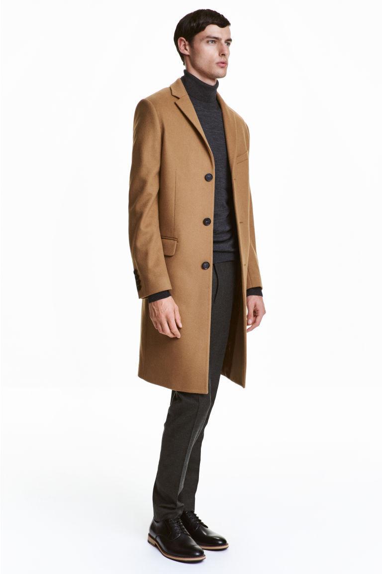 H&M Men's Wool Long Coat size 56R