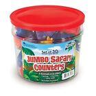 Learning Resources LER7407 Jumbo Safari Counters