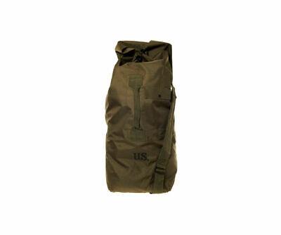 Fostex Army Duffle Bag Borsa Moto, Verde Oliva Cotone- Prestazioni Affidabili