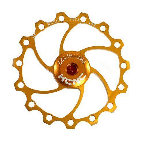 KCNC AL7075 Jockey Wheels Bike Bicycle Rear Derailleur Pulley 11T Gold