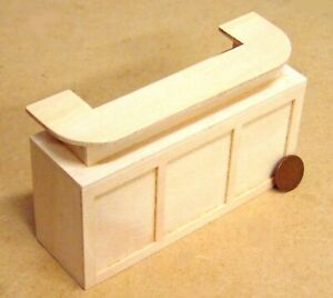1-12-Scale-U-Shaped-Natural-Finish-Wooden-Curved-Bar-Counter-Tumdee-Dolls-House