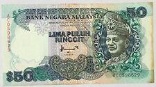 AC0598629  Ahmad  8th sr.rm50 banknote FCO printer  nice n  RaRe?