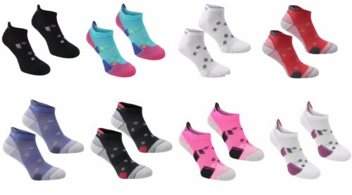 2 Pack Femmes Karrimor Chaussettes de course taille basse Trainer Gym Anti-Odeur Taille 4-8 UK