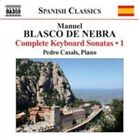 Manuel Blasco De Nebra Complete Keyboard Sonatas 0747313206872 by Casals CD