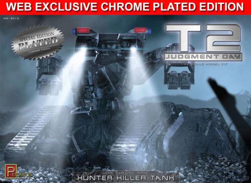 Terminator 2 Hunter Killer Tank 1//32 Scale Model Kit CHROME PLATED 18TPH06