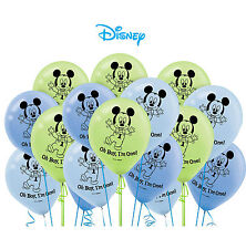 Baby Mickey Mouse 1st Balloons Birthday Party Favor Latex Balloons 15 Pieces