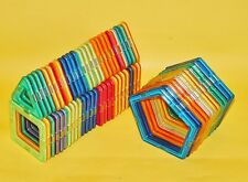 62pcs Magformers Toy 3D Bricks Magnetic Building Blocks Educational Kids Toys