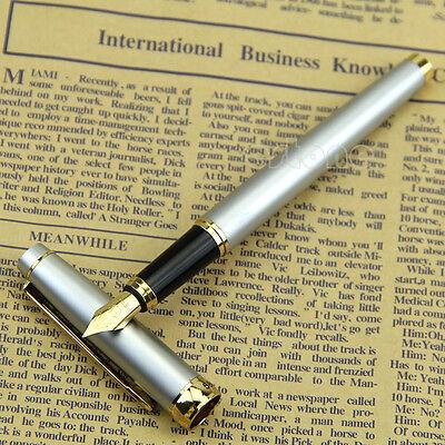 New Fountain Pens Hero 588 DR Doctor Stainless Steel Barrel Medium Nib Point Pen