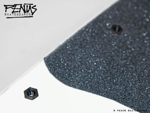 Penüs Crabs 8x Sex Bolts /& Rat Barell Nuts Skateboard Rail Mounting Kit