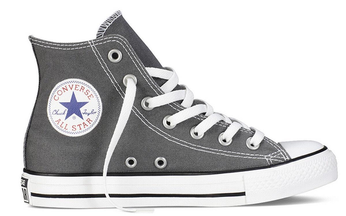 Converse All Star Charcoal Hi Mens Charcoal Star Canvas Trainer 878324