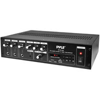 Pyle Pt510 240w Mono Amplifier With Mp3 Media Player & Mic Talkover 70v / 100v / on Sale