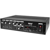 Pyle Pt510 240w Mono Amplifier With Mp3 Media Player & Mic Talkover 70v / 100v / on sale