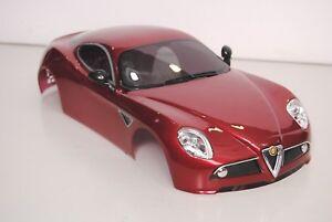 The Rally Legends Ezq8r100 Carrosserie Alfa Romeo 8c Peint Verni Accessoires