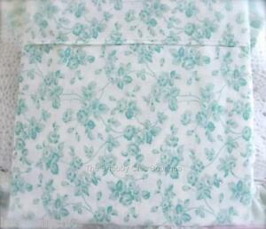 Shabby-Cottage-Roses-Aqua-Green-Chic-King-Bed-Quilt-Cover-Doona-Duvet-amp-Sham-Set