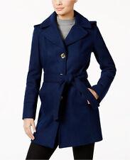 MICHAEL Michael Kors Petite Wool-Blend Hooded Walker Coat