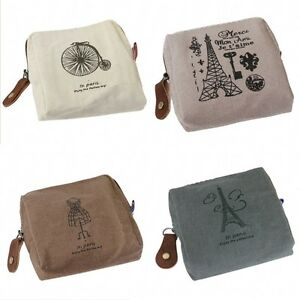 Women-Vintage-Hot-Canvas-Tower-Cloth-Purse-Wallet-Card-Key-Coin-Bag-Pouch-Case