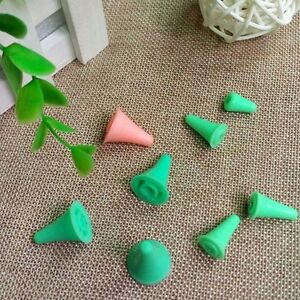 10/40Pcs Plastic Point Protectors/Stoppers For Knitting Needles Caps Craft Tools