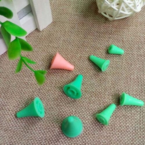 10//40Pcs 2 Sizes Rubber Point Protectors//Stoppers For Knitting Needles Craft Kit