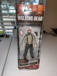 McFarlane-The-Walking-Dead-Series-7-Exclusive-Hershel-Figure-New-Sealed