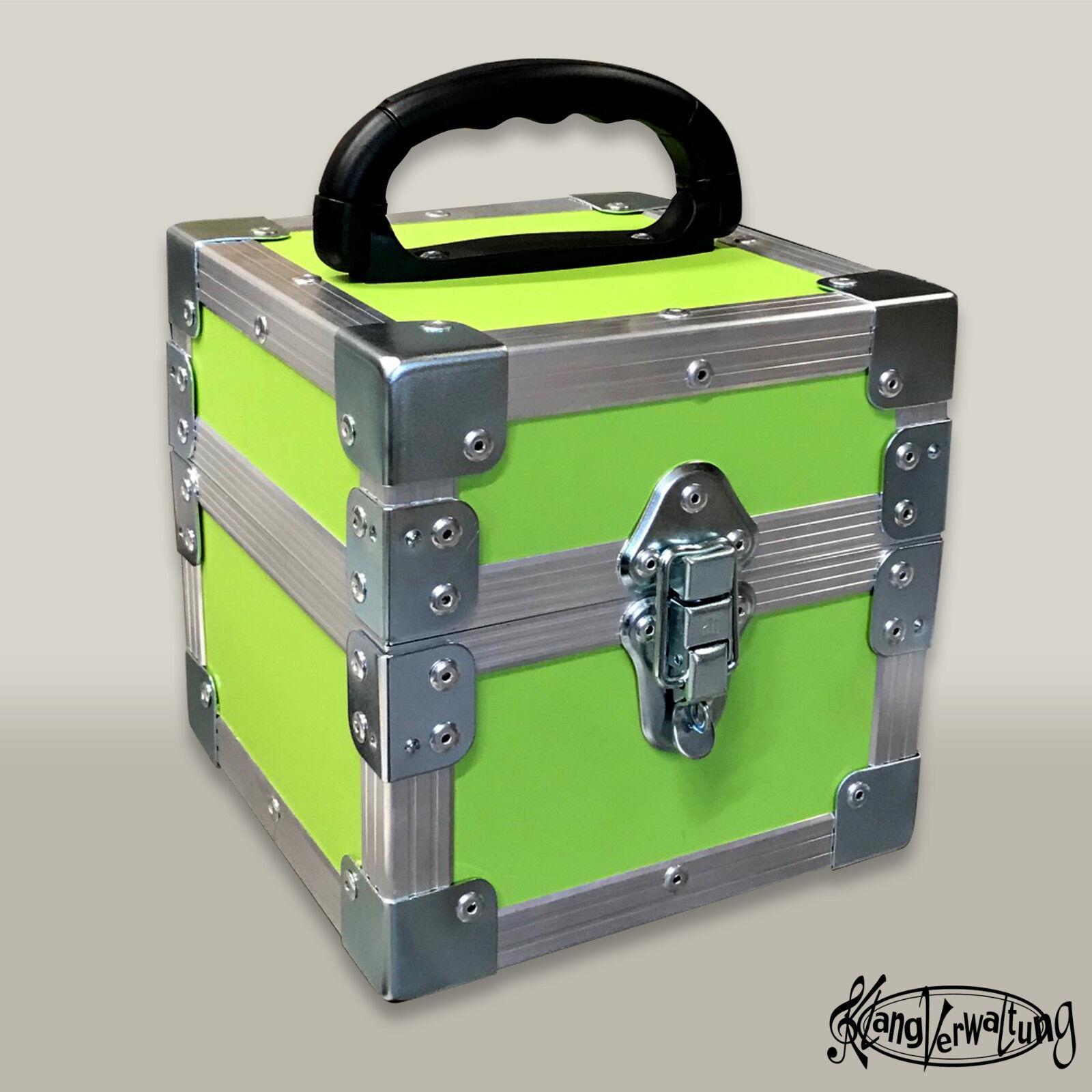 Flightcase für 7 Zoll Schallplatten Schallplattencase Transportcase Singel