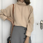 Women-Cashmere-Mink-Fur-Pullover-Sweater-Oversized-Loose-Stretch-Top-Coat-Jacket thumbnail 11