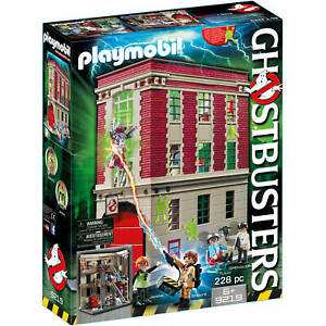 PLAYMOBIL-Ghostbusters-Firehouse