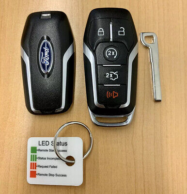FCC ID: M3N-A2C31243300, P//N: 164-R7989 OEM Electronic Smart Key Fob Remote Compatible With Ford