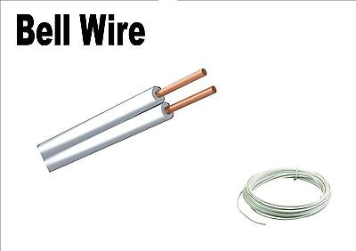 bell wire 2 core 1amp flat cable bell chime flexible cable