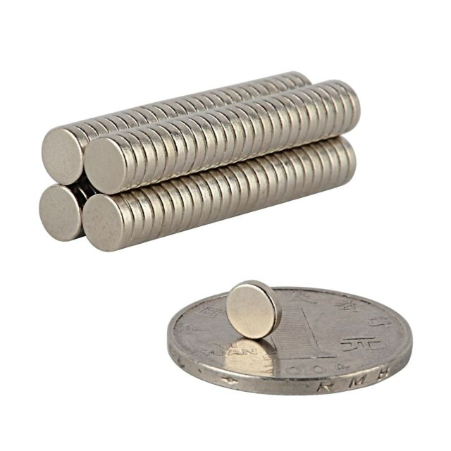 1/5/20/50/100Pcs Super Strong Round Disc Magnets Rare-Earth Neodymium Magnet N35