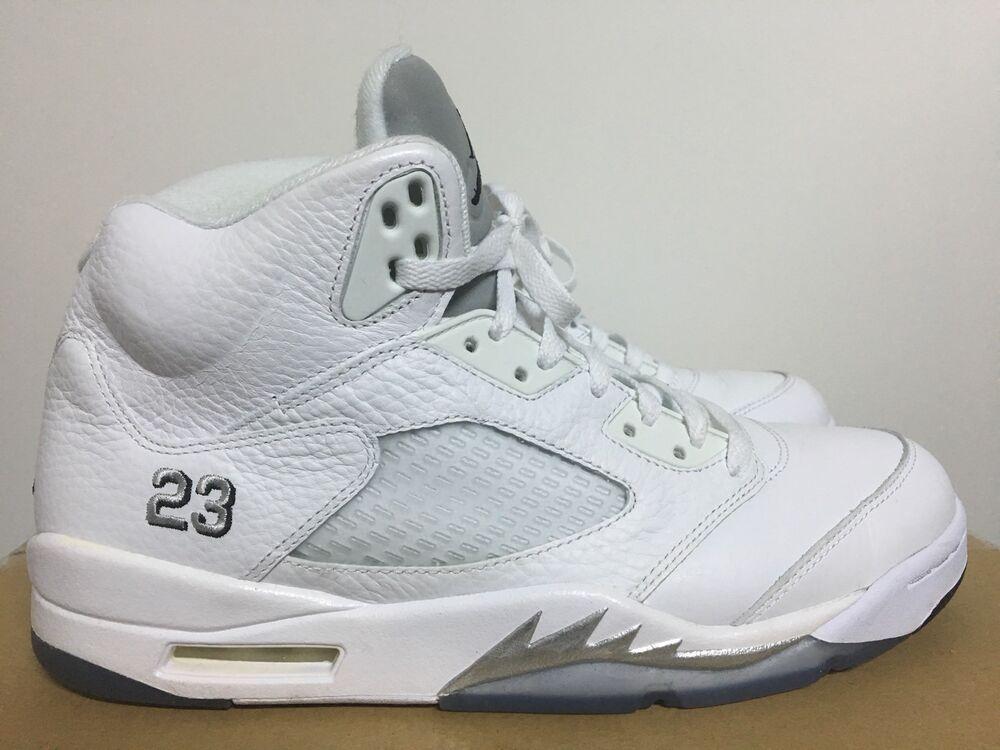 Nike Air Jordan 5 Retro US 10,5 Off blanc kith fieg supreme uptempo Atmos OG Max-
