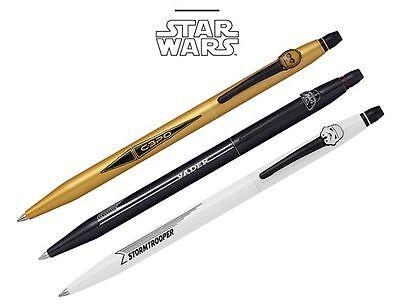 Star Wars Retractable Ball Pen Darth Vader Star Trooper