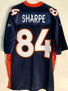 Details about Reebok Premier NFL Jersey Denver Broncos Shannon Sharpe Navy sz 2X