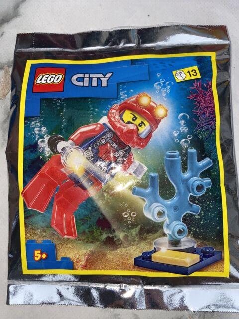 LEGO CITY: Deep Sea Diver Polybag Set 952012 New Sealed