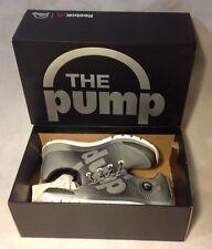NEW REEBOK MENS ZPUMP FUSION Running Shoes GRAY GRAVEL ORANGE Size 11
