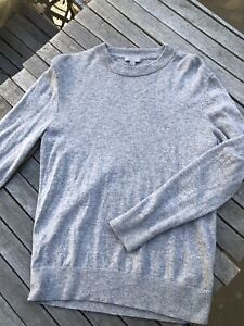 Cos Wool and Yak light grey Mens sweater