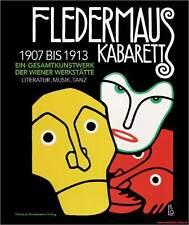 Fachbuch Kabarett Fledermaus, Gesamtkunstwerk der Wiener Werkstätte 1907-13 NEU