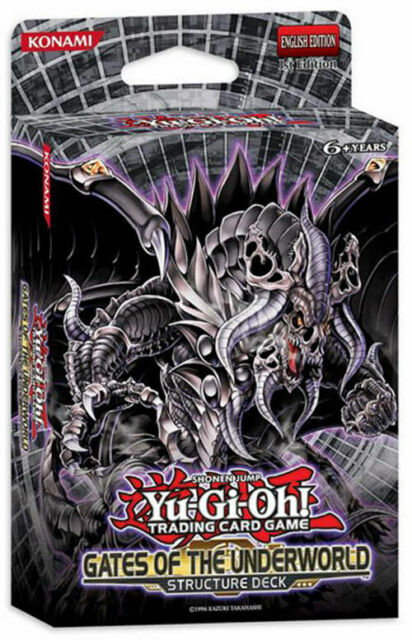 Yu-Gi-Oh Cards Zexal - Structure Deck - GATES OF THE UNDERWORLD - New Sealed