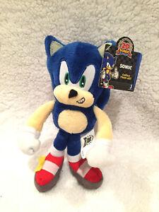 Sonic The Hedgehog Sonic Jazwares Plush Doll Ebay