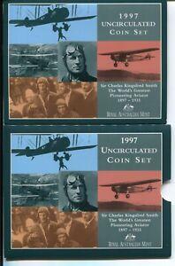 1997 UNC Mint Set Australia