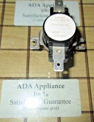 Maytag Oven Hi Limit Switch 7403P063-60 SATISFACTION GUARANTEE