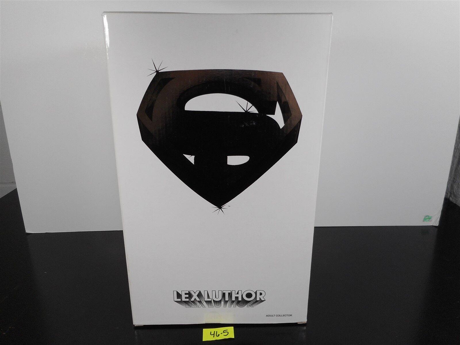 Nuevo MATTEL Movie Masters Lex Luthor coleccionista adulto 12  figura de Cochetón blancoo 46-5