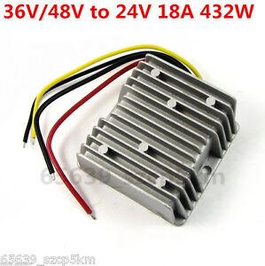 Waterproof-Buck-Converter-Step-Down-Module-Power-Supply-36V-48V-to-24V-18A-432W