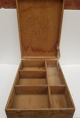 Schmuckkästchen Schutzhülle Vintage Holz Behälter Uhr Aufbewahrung Heim Zubehör