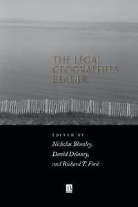 Blomley-Legal-Geographies-Reader-UK-IMPORT-BOOK-NEW