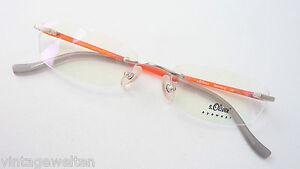 schmale s oliver brille ohne rahmen bohrbrille. Black Bedroom Furniture Sets. Home Design Ideas