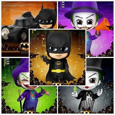 Hot Toys COSBABY Batman Joker Mini PVC Action Figure Collectible Dolls In Stock