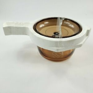 Corning Vision 2.5L Amber Covered Sauce Pan With Lid Pyrex V-25-C UNUSED NEW