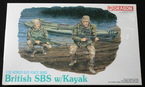 1:35 Dragon #3023 British SBS w// Kayak.